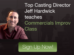 Jeff Hardwick Commerical Improv Class