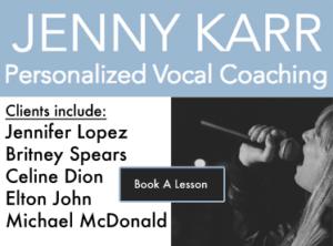 Jenny Karr Vocal Coaching