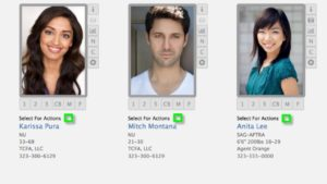 Requesting CF Cast (self tapes) from talent